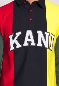 Karl Kani - UNISEX COLLEGE BLOCK RUGBY - Polo shirt - navy - 5