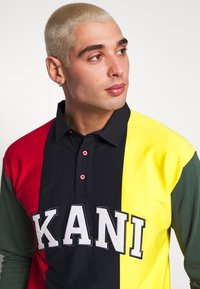 Karl Kani - UNISEX COLLEGE BLOCK RUGBY - Polo - navy - 3