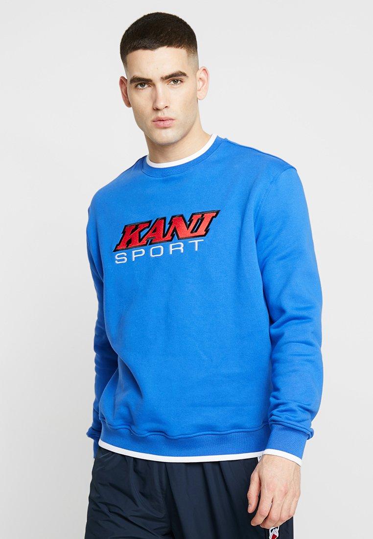 Karl Kani - SPORT CREW - Sweatshirt - blue