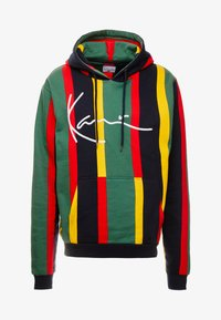 Karl Kani - SIGNATURE HOODIE - Mikina s kapucí - green/red/yellow/navy - 4