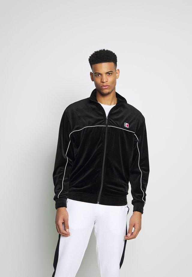 RETRO VELVET  - Training jacket - black