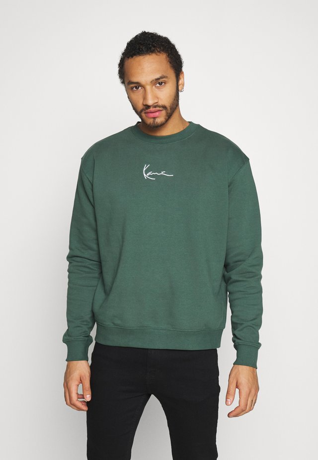 UNISEX SIGNATURE CREW - Sweatshirt - green