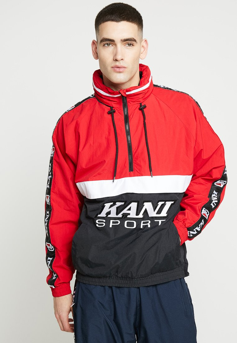Karl Kani - SPORT BLOCK - Windbreaker - red/black
