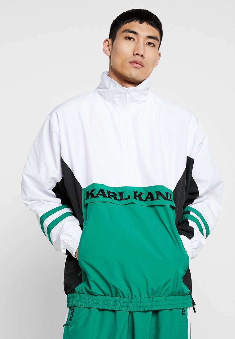 Karl Kani - RETRO - Windbreaker - green/white/black