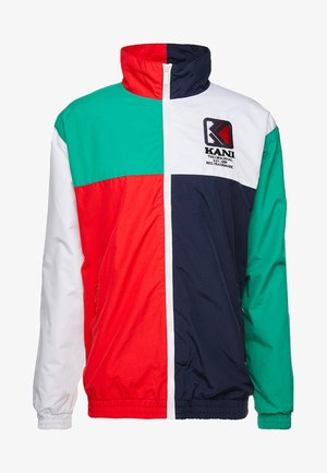 TRACKJACKET - Giacca sportiva - navy/green/red/white