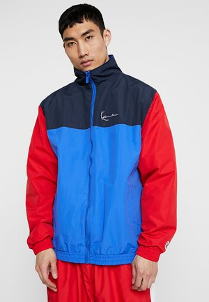 SIGNATURE TRACKJACKET - Korte jassen - blue/navy/red/white