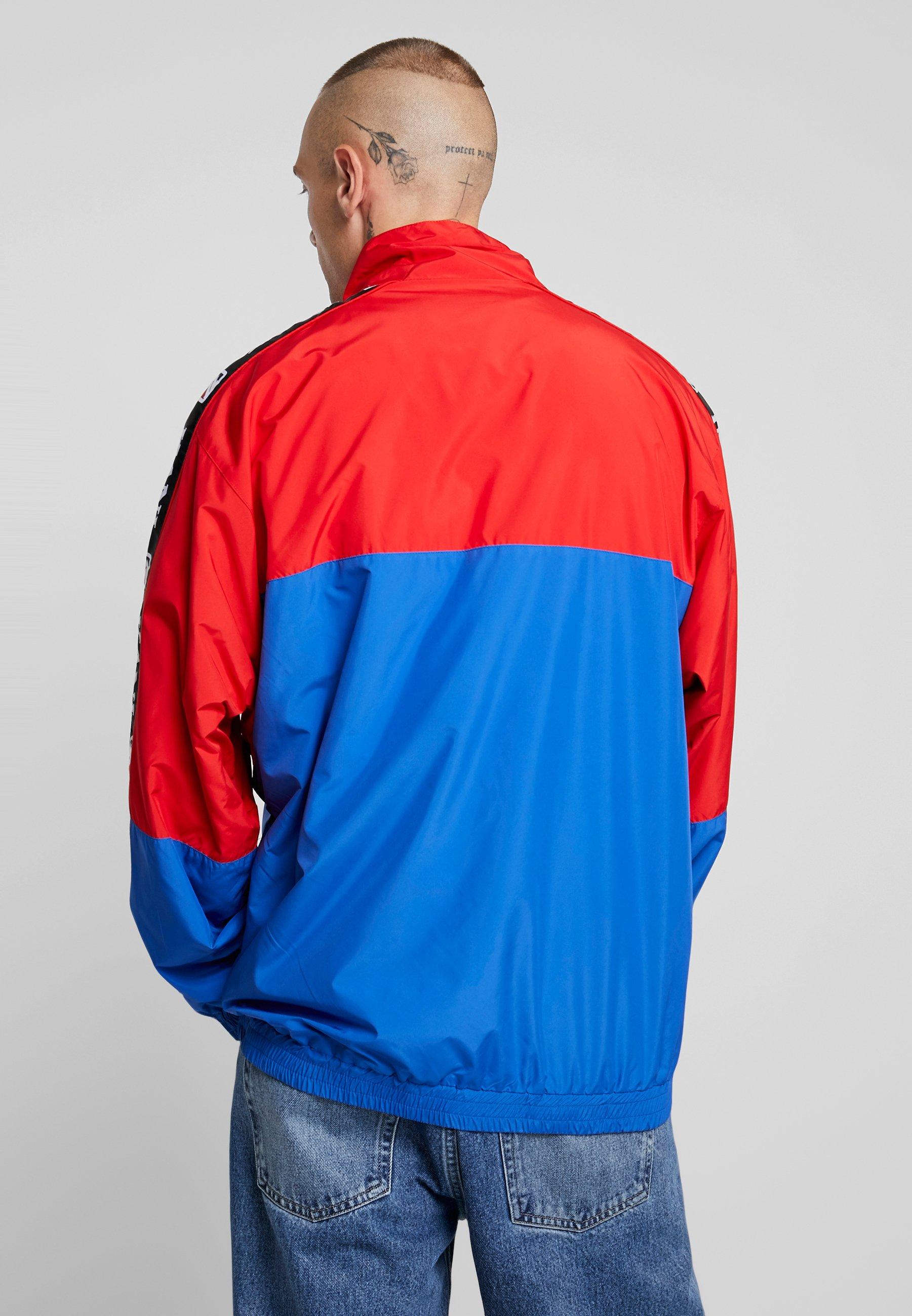 blue yellow TrackjacketVeste De Survêtement Red Kani Block Karl Retro j4RL5A