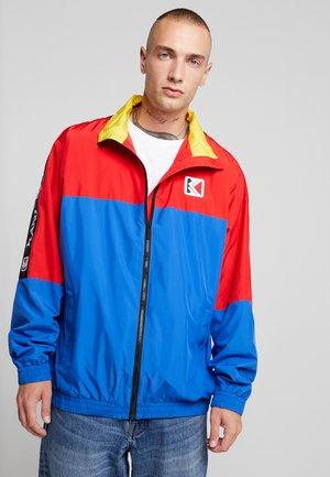 RETRO BLOCK TRACKJACKET - Training jacket - red/blue/yellow