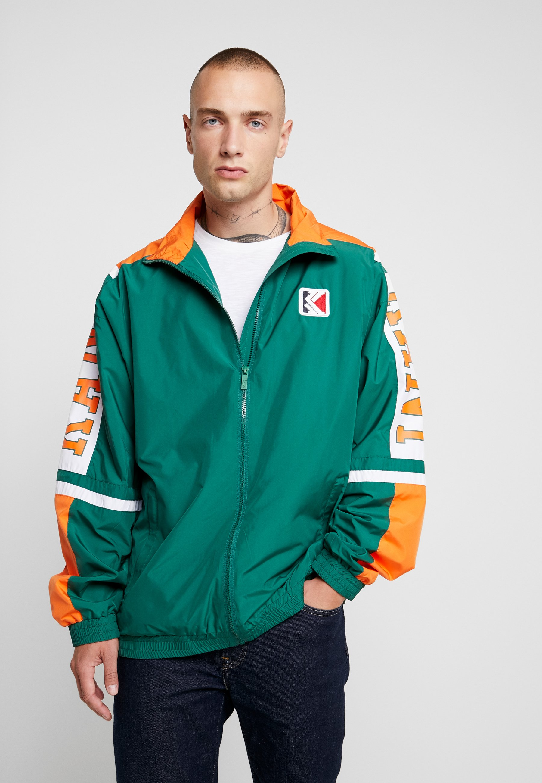 Kani Green Karl orange TrackjacketVeste white College De Survêtement nkwX80OP
