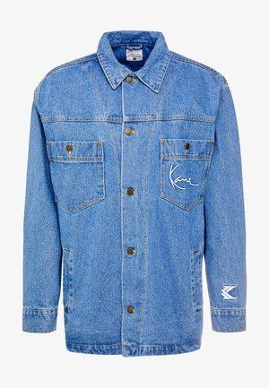 JACKET - Džínová bunda - blue