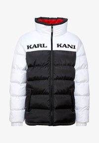 Karl Kani - RETRO REVERSIBLE PUFFER JACKET - Giacca invernale - black/white/red - 5