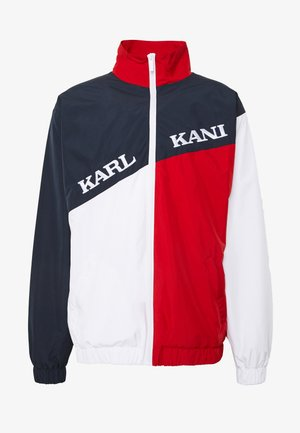RETRO BLOCK  - Training jacket - navy/red/white