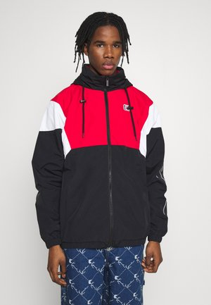 RETRO BLOCK  - Training jacket - black/red/white