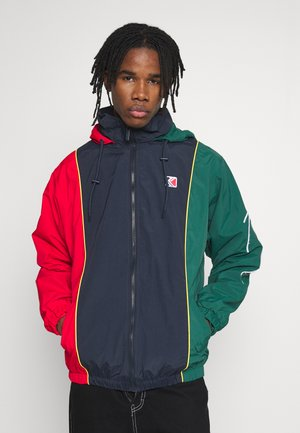 RETRO BLOCK  - Training jacket - navy/red/green/yellow/white