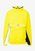 RETRO BLOCK - Windbreaker - yellow/white/navy