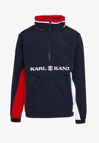 Karl Kani - RETRO BLOCK - Větrovka - navy/red/white - 6
