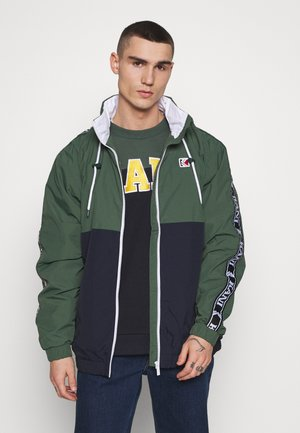 RETRO TAPE TRACKJACKET - Veste de survêtement - green/navy