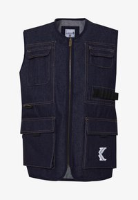Karl Kani - DENIM UTILITY  - Bodywarmer - blue - 4