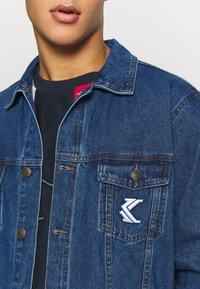 Karl Kani - JACKET - Denim jacket - blue - 6