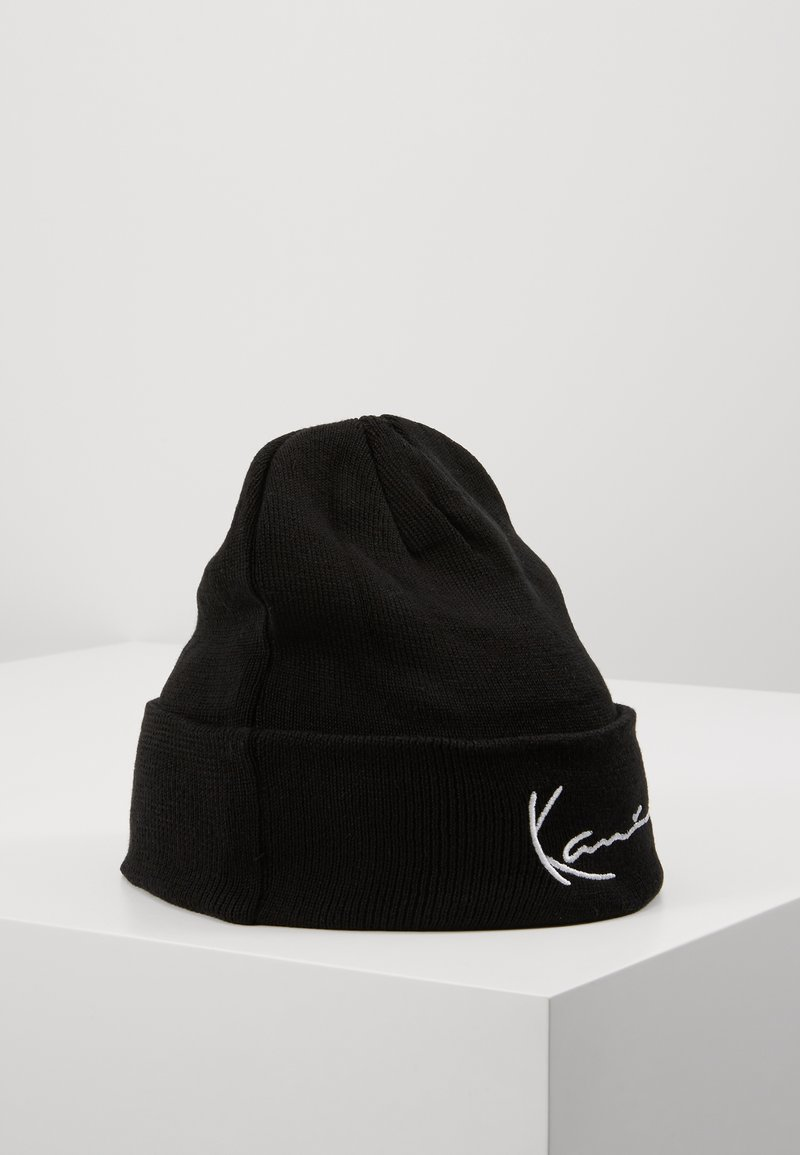 Karl Kani - SIGNATURE BEANIE - Muts - black