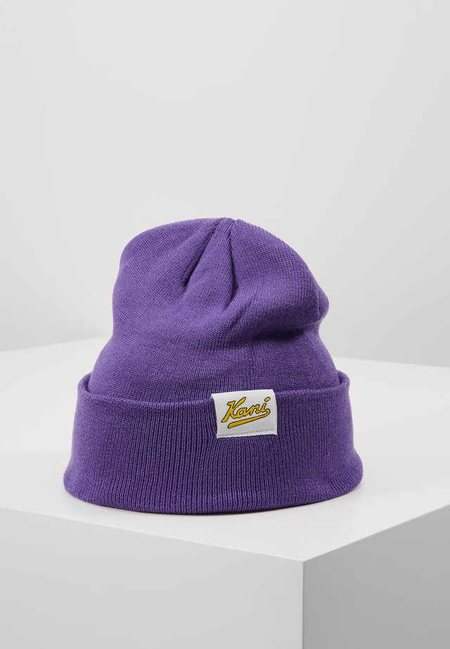 COLLEGE BEANIE - Beanie - purple
