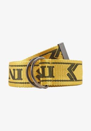COLLEGE BELT - Belt - yellow/black