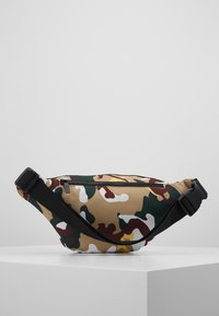 Karl Kani - SIGNATURE TAPE WAIST BAG - Bæltetasker - burgundy/white/black/yellow - 2