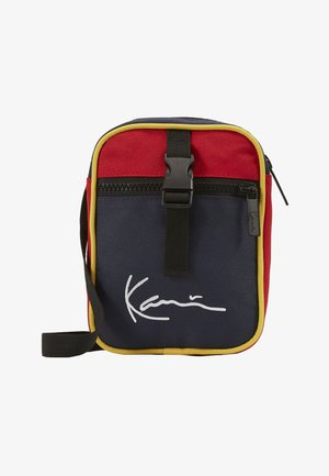 KK SIGNATURE BLOCK MESSENGER BAG - Skulderveske - navy/red/yellow/red