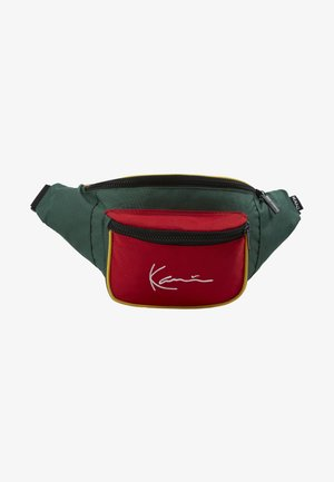 SIGNATURE BLOCK WAIST BAG - Rumpetaske - red/green/yellow