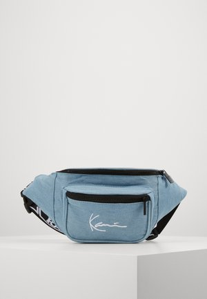 SIGNATURE TAPE WAISTBAG  - Ledvinka - blue
