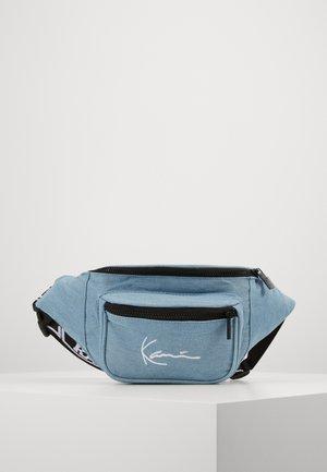 SIGNATURE TAPE WAISTBAG  - Bum bag - blue