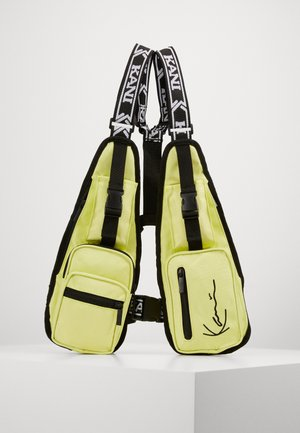 TAPE UTILITY VEST BAG  - Bum bag - yellow
