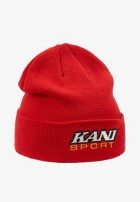 Karl Kani - STARTER SPORT BEANIE - Beanie - red - 4