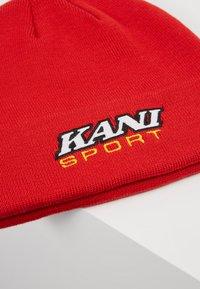 Karl Kani - STARTER SPORT BEANIE - Beanie - red - 5