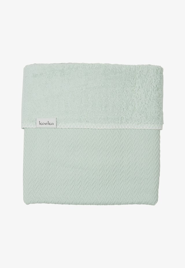 KINDERBETTDECKE STOCKHOLM - Bath towel - mint