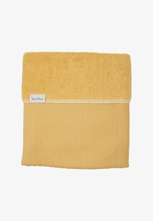 KINDERBETTDECKE STOCKHOLM - Bath towel - ochre