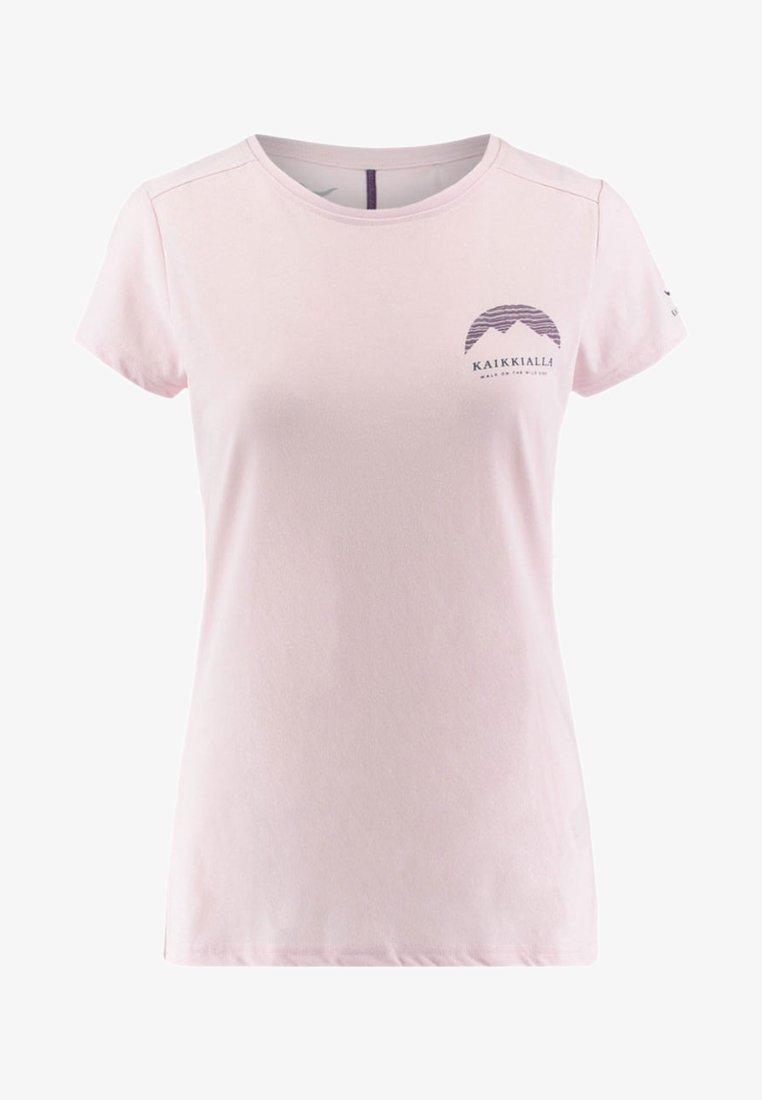 Kaikkialla - ELLEN - Print T-shirt - orchid