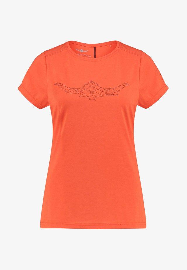JULIAANA - Print T-shirt - orange