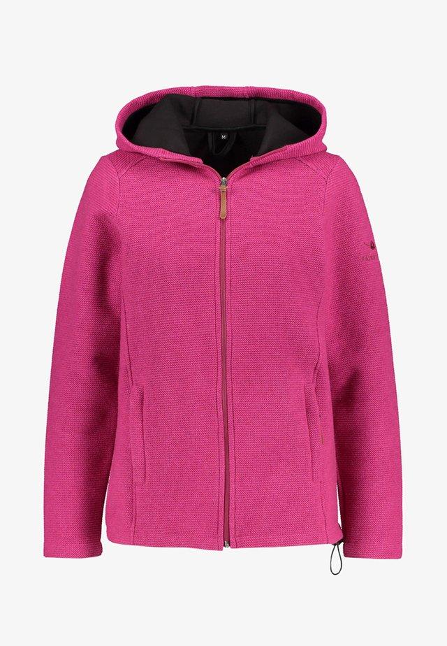 KAINUU - Fleece jacket - pink