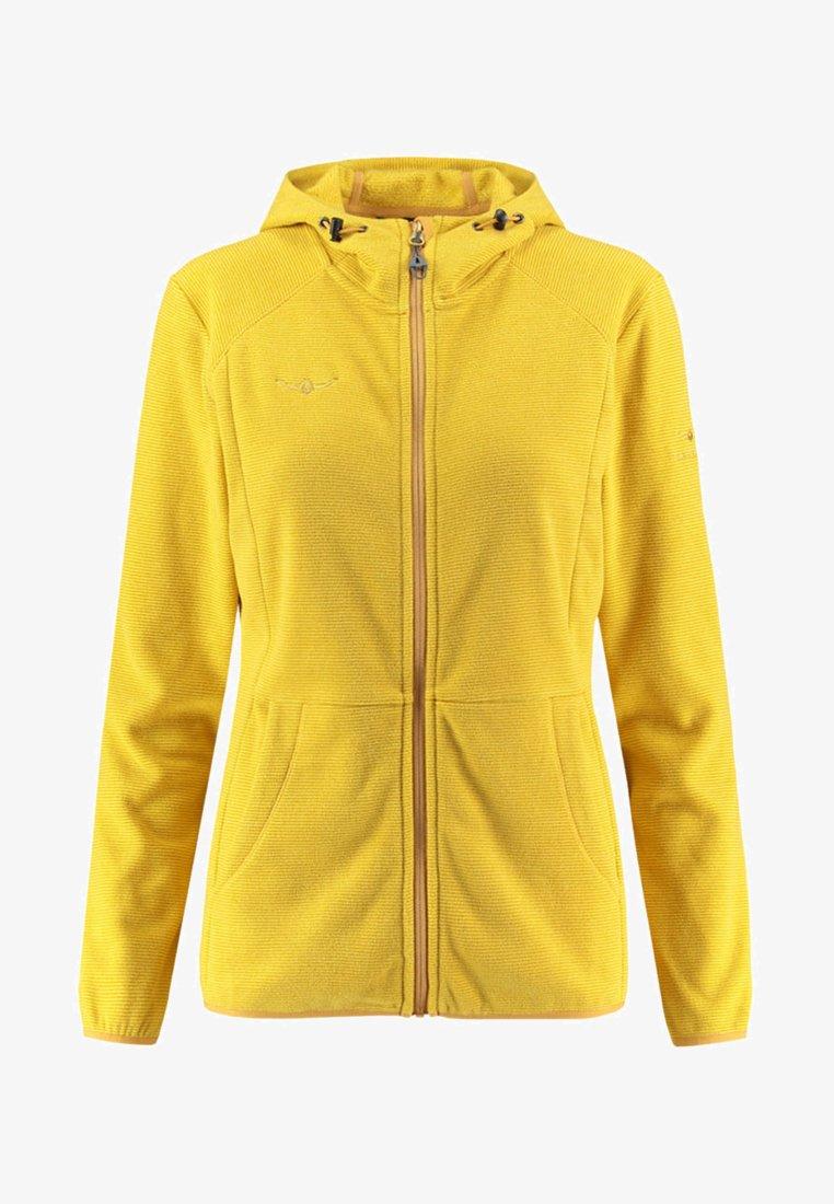 """Kaikkialla - """"TIIA"""" - Fleece jacket - yellow"""
