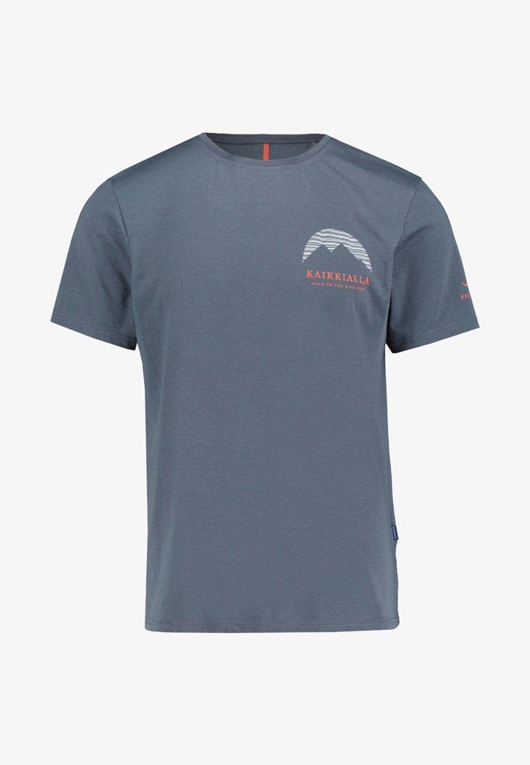 Kaikkialla - ERKKI - Print T-shirt - night blue