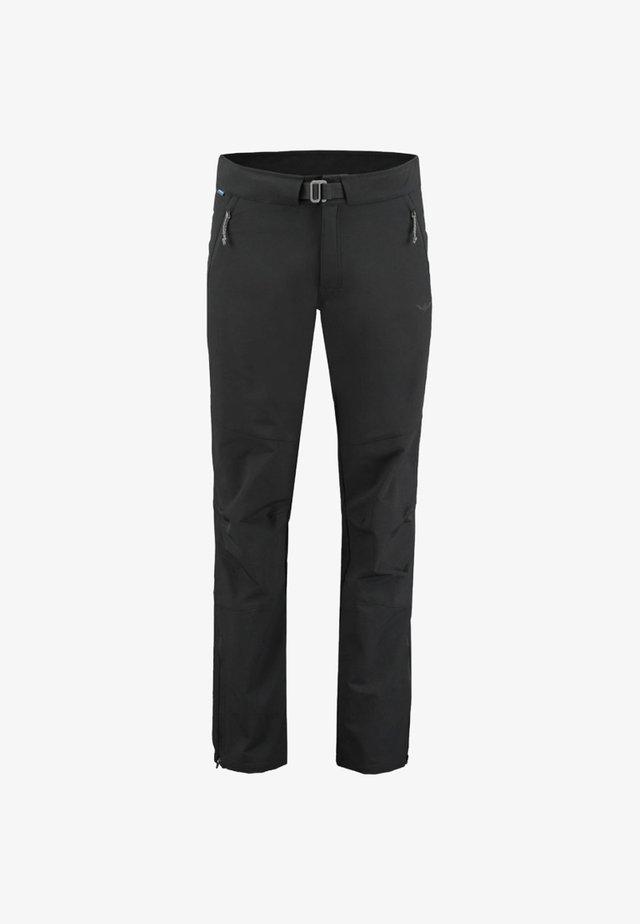 UNTAMO - Trousers - black