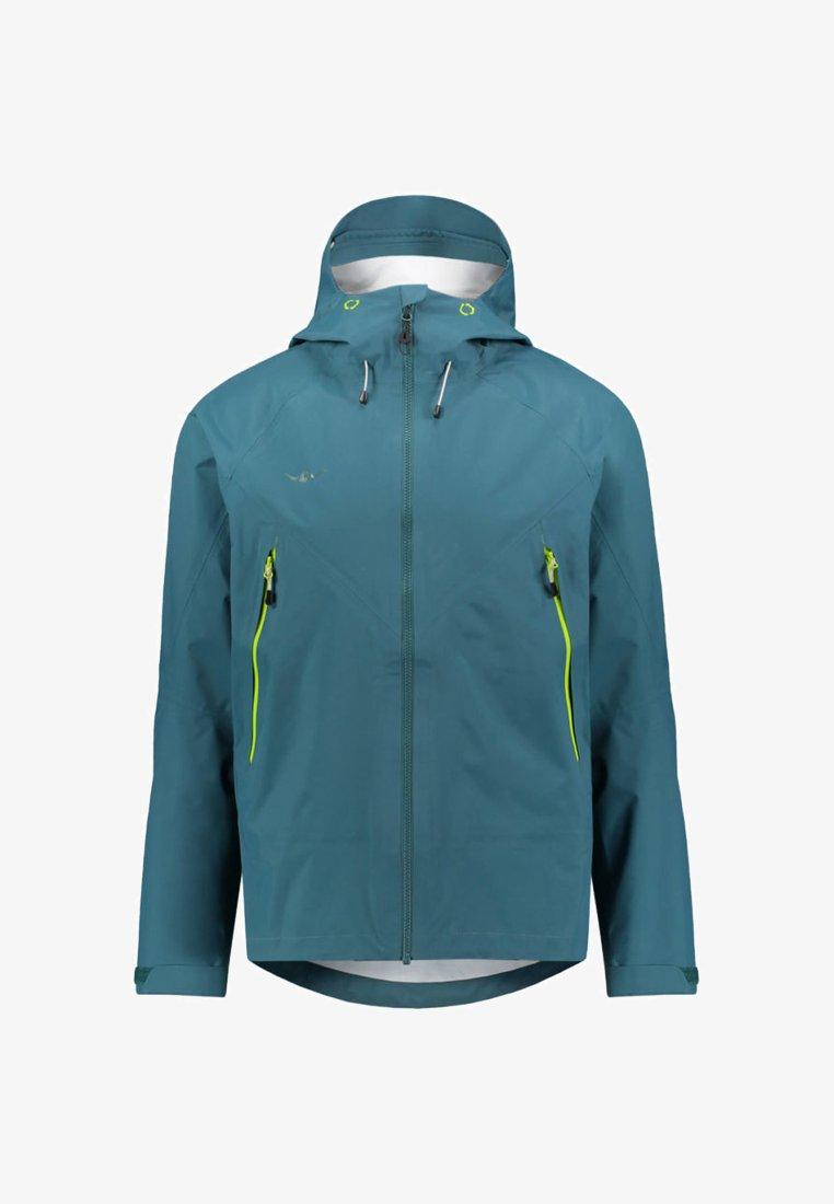 Kaikkialla - HERREN VILJO HE 2,5 L - Hardshell jacket - green