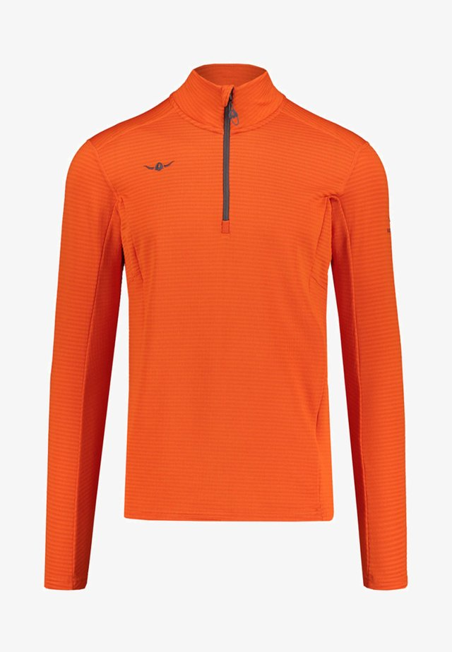 USKO ZIP - Fleece jumper - orange