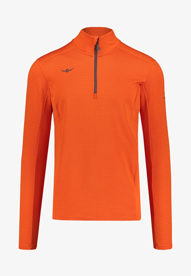Kaikkialla - USKO ZIP - Fleece jumper - orange