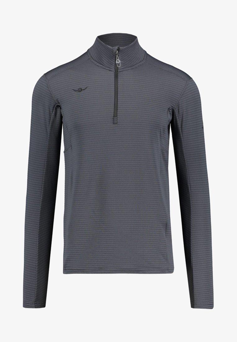 Kaikkialla - USKO ZIP - Fleece jumper - anthracite