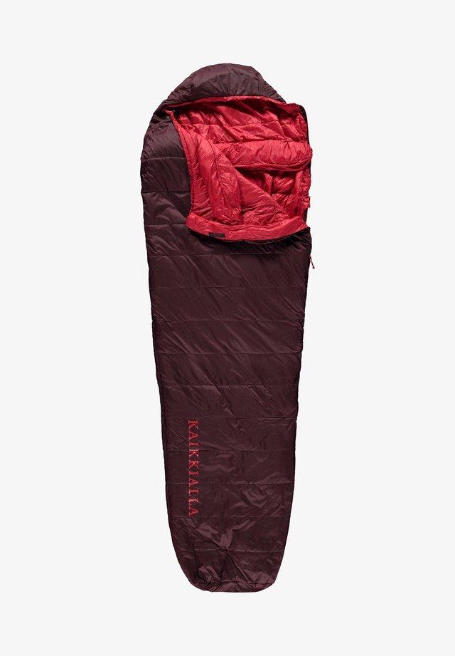 Sleeping bag - dark red
