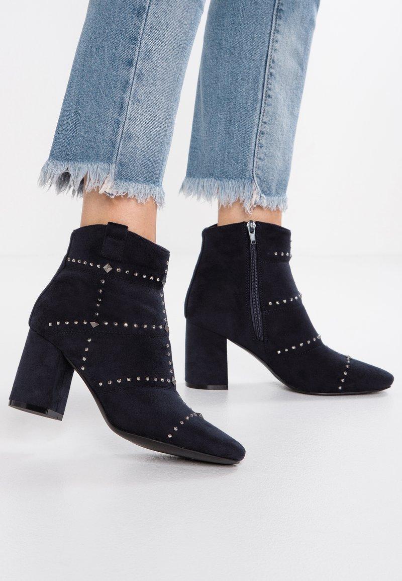 Kio - Ankle boots - dark blue