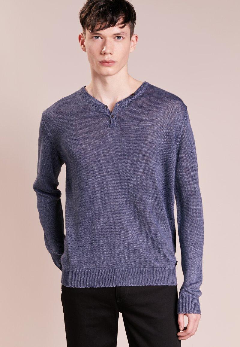LAGERFELD - Stickad tröja - blau