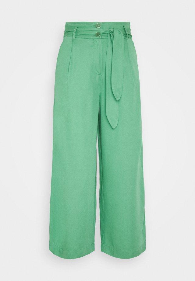 AVA PANTS UNI  - Kangashousut - neptune green